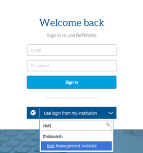 RefWorksLogin